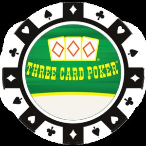 Three Card Poker Chip