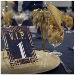 VIP place setting image