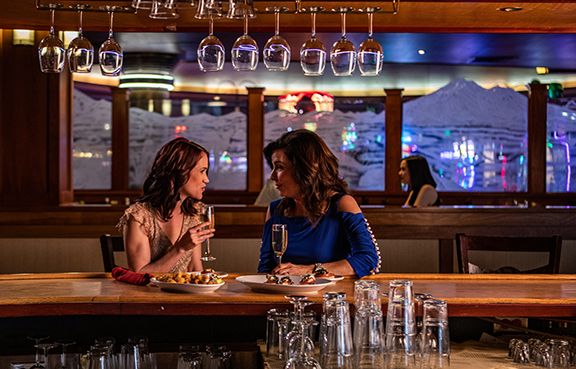 Ladies at Bar